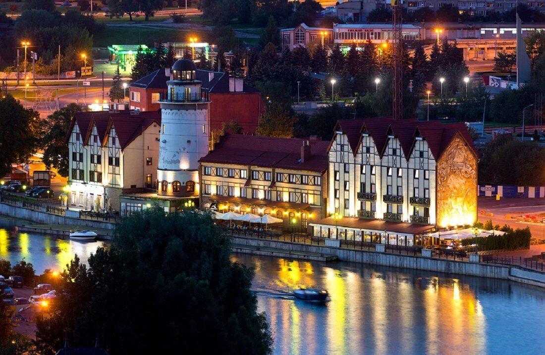 Калининград из Перми